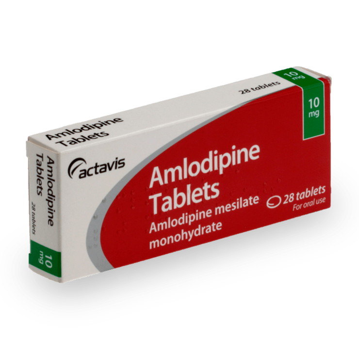 Amlodipine 5mg Tablets 28 Tablets