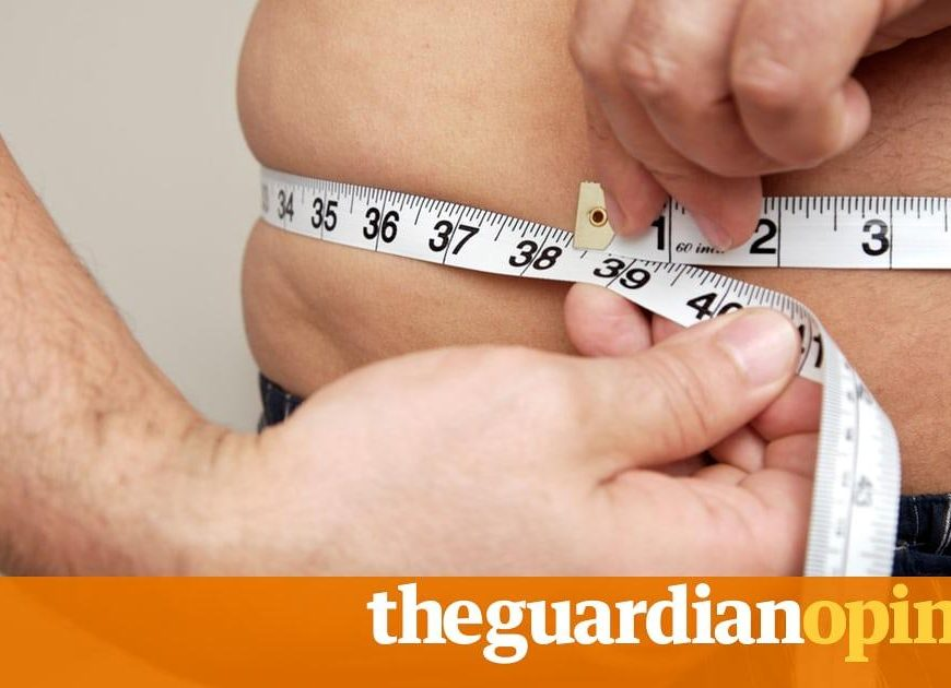 Men are putting on weight  and the diagnosis is grim | Neil Boom