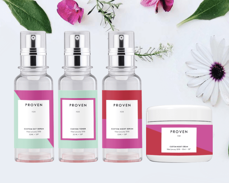 Proven wants to sell AI distilled custom skincare