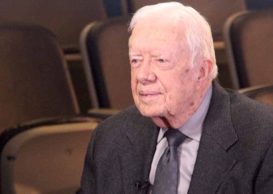 Jimmy Carter has just become the oldest living former president ever