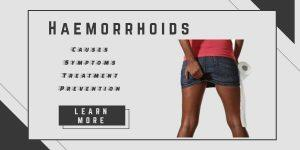 Haemorrhoid symptoms and treatment