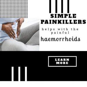 paracetamol, simple painkillers help with haemorrhoid discomfort